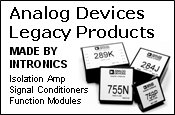 Legacy Products MADE BY INTRONIC
